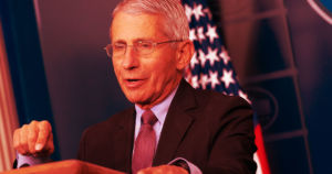 Dr. Anthony Fauci warns that unless the U.S. government gets its act together, the country could see 100,000 new coronavirus cases every day.