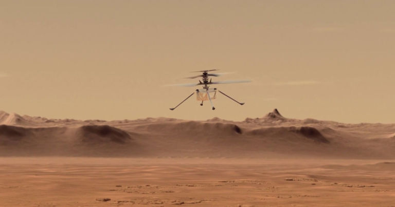 heres nasas ingenious way of testing its mars helicopter 768x403.'