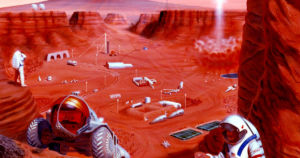 A new mathematical model predicts that a self-sustaining colony on Mars could succeed with just 110 settlers working together.