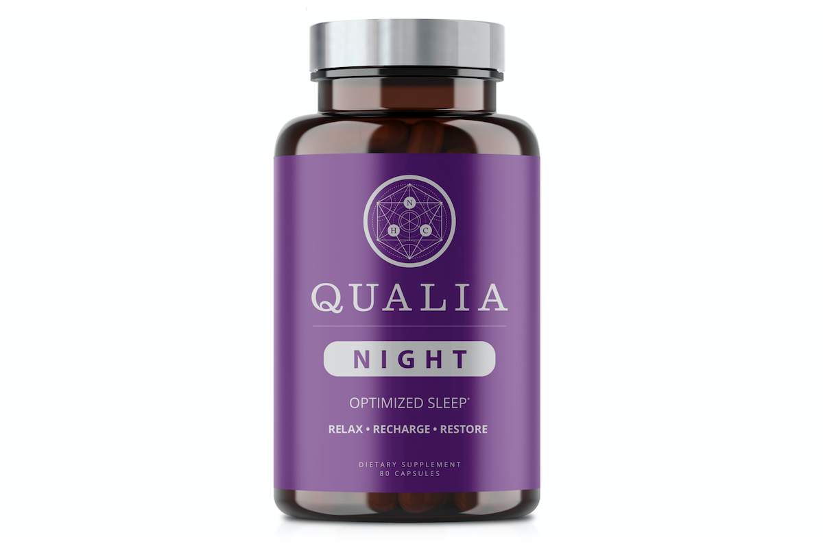 Qualia Night for better sleep.