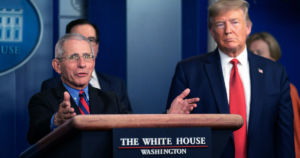 Dr. Fauci hasn't been able to brief President Trump on the coronavirus pandemic for two months. The two haven't even seen each other since early June.