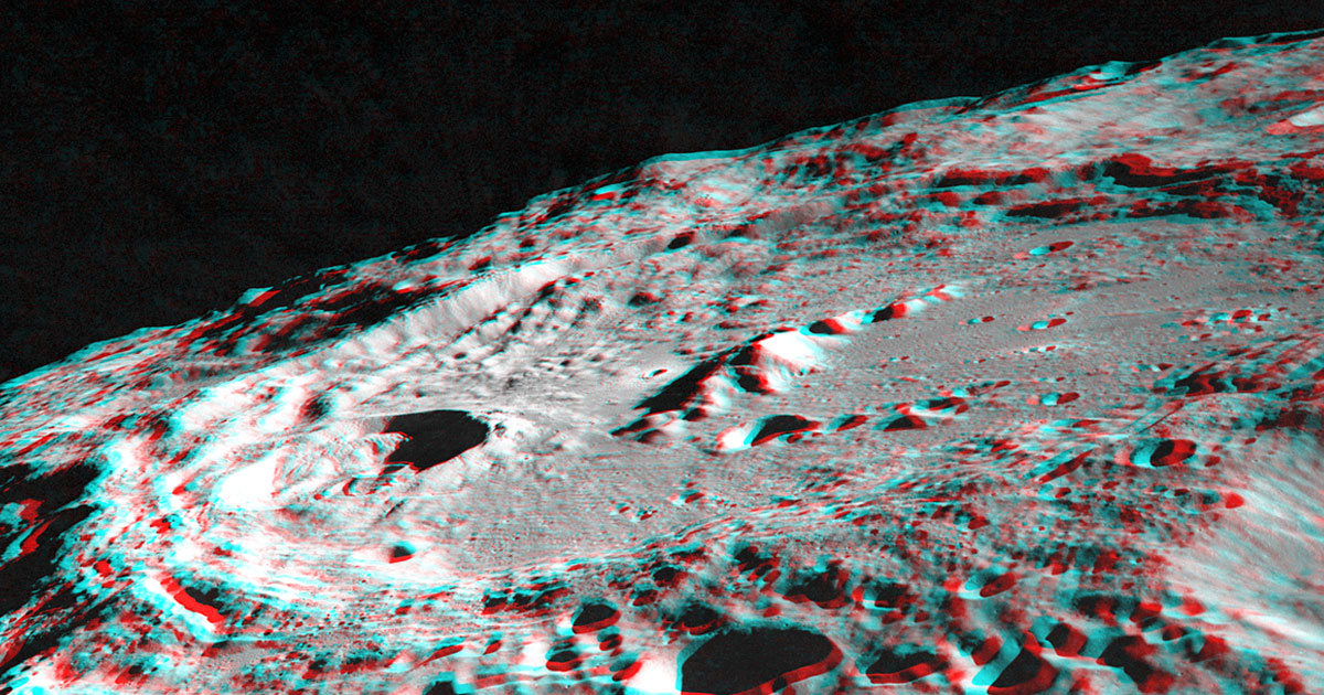 NASA discovers huge potential caches of metal on the Moon