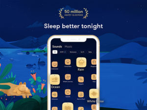 Can't sleep? Try this highly rated relaxation app