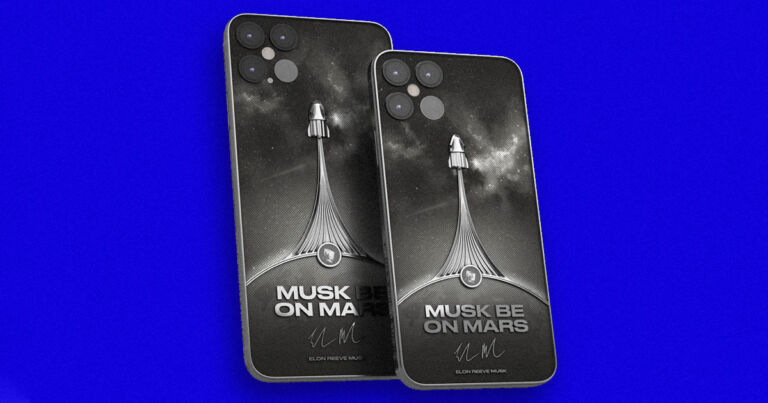 You Can Now Waste $6,000 on an Elon Musk-Themed iPhone - Futurism