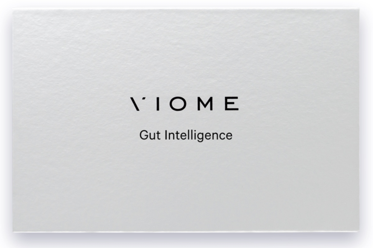 Viome gut health test.