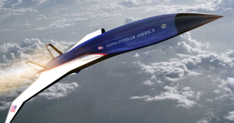 Air Force One's successor could go 5x the speed of sound