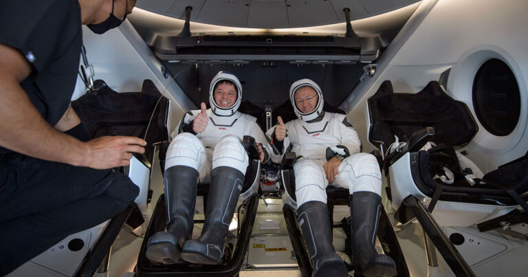 "NASA astronauts ""almost speechless"" at how well SpaceX Crew Dragon did"