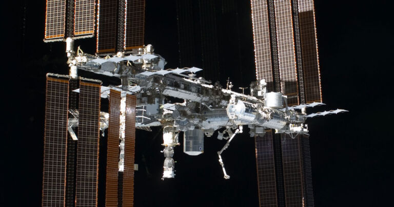 NASA says there's a small leak on the International Space Station