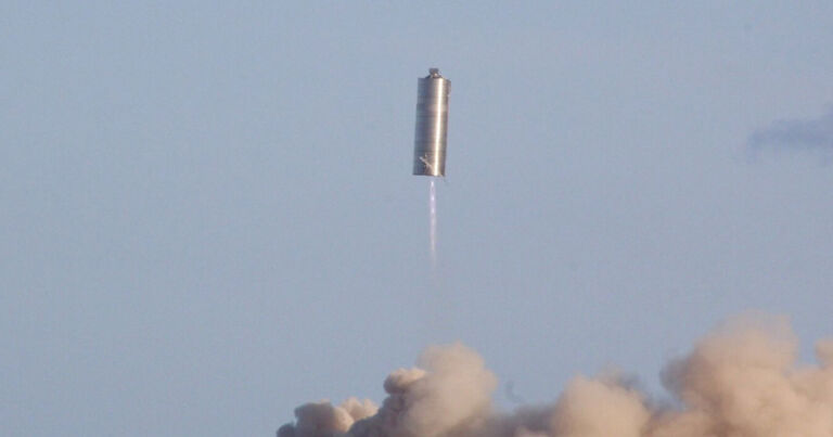 Incredible: Watch SpaceX Fly Full-Scale Starship Prototype to 500 Feet