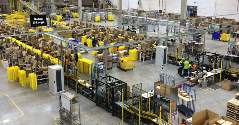 Injuries Went Up When Amazon Deployed Warehouse Robots