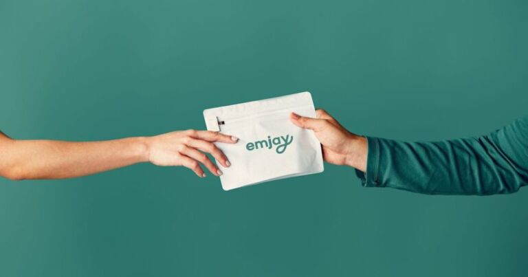 This innovative company offers free one-hour cannabis delivery right to your door