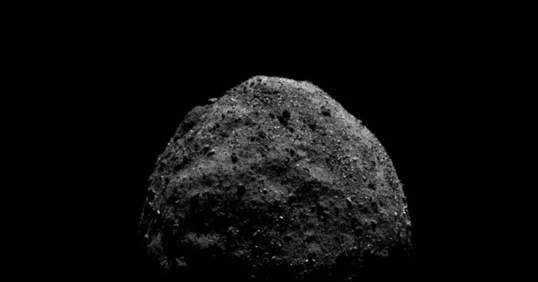 The asteroid NASA landed on appears to be hollow