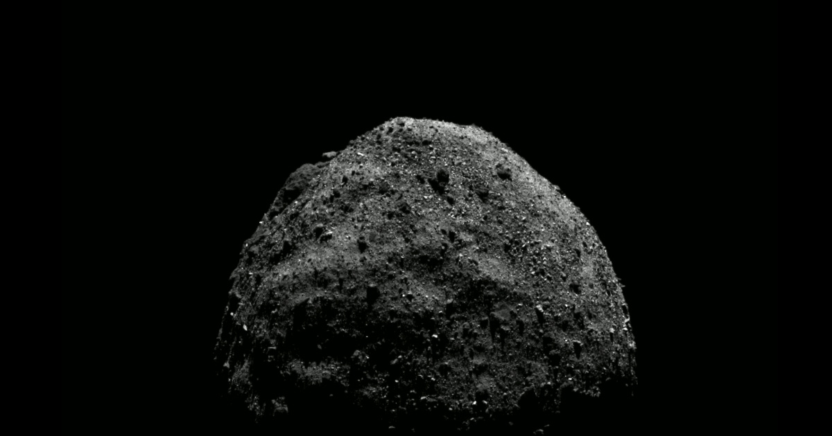 NASA data appears to show that giant asteroid is hollow