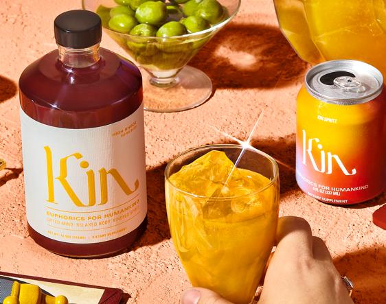 Kin non alcoholic drinks
