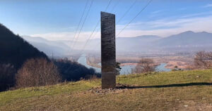 As soon as the mysterious twelve-foot metal monolith in Utah disappeared, a new mysterious monolith appears in northern Romania.