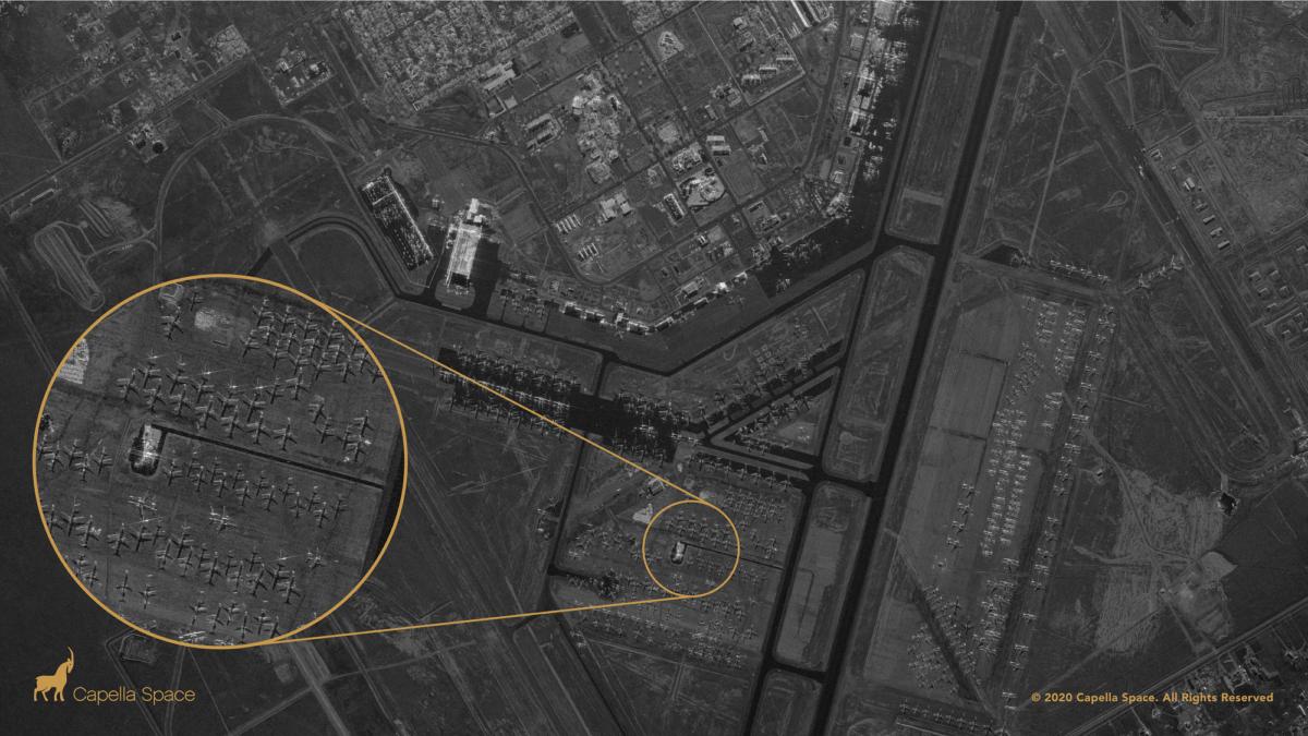 Auf Wiedersehen Privatsphäre: Neuer Satellit kann ins Innere von Gebäuden sehen, Tag und Nacht