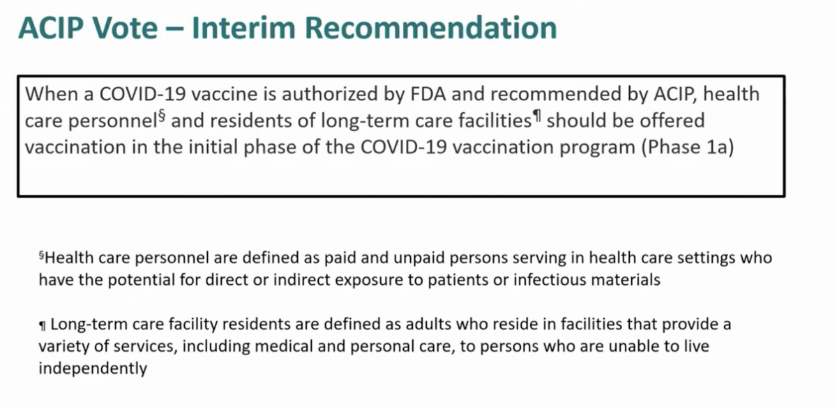 cdc vaccine recommendation