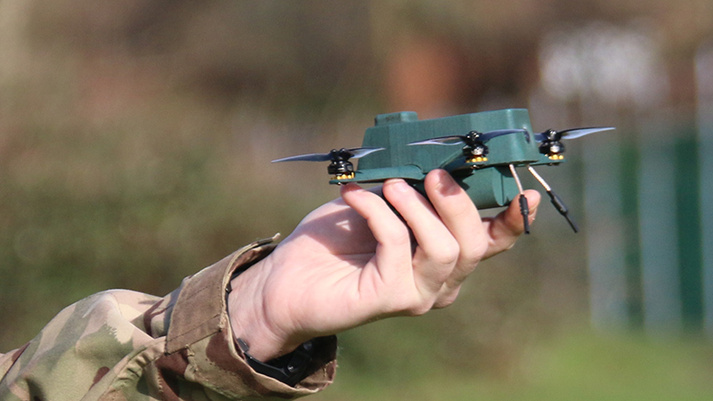 UK Army Unveils Tiny Spy Drones That Can Journey Over a Mile bug
