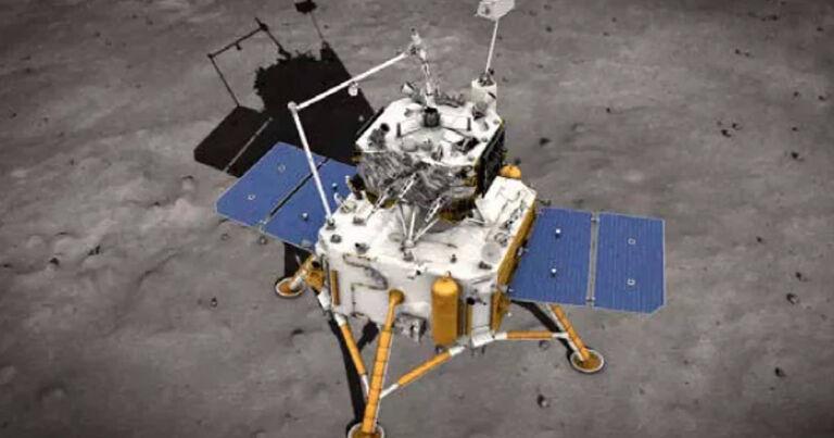 Chinese lander dies on lunar surface