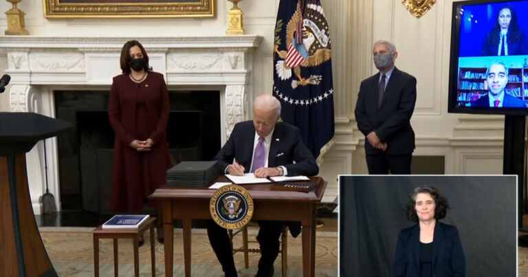 Biden Calls on All Americans to Wear Masks in Public For 100 Days