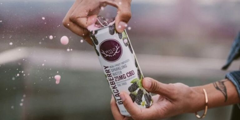 This Innovative Sparkling Water Combines CBD With Real Fruit Flavor