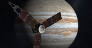 NASA's Juno spacecraft reportedly detected an FM radio signal coming from the Jovian moon Ganymede, local Utah news station KTVX reports.