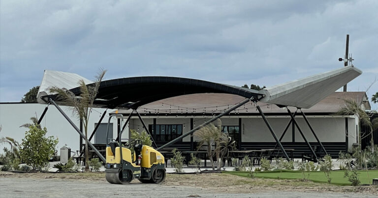 SpaceX Building Bar and Restaurant at Starship Testing Facility