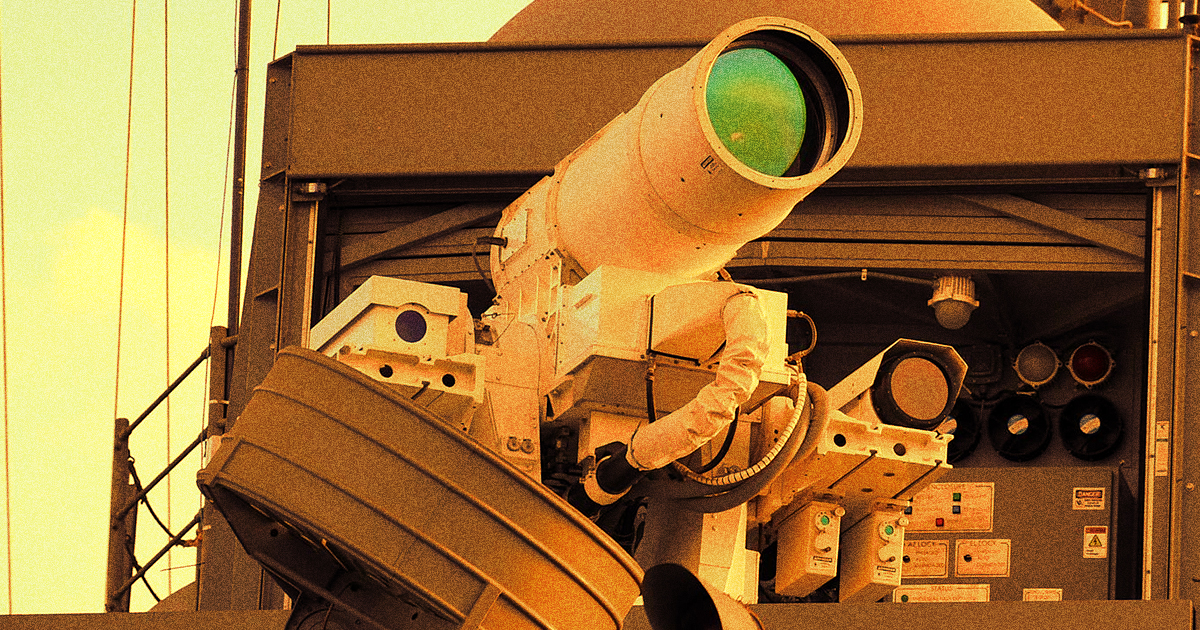 US Army Testing Machine Gun-Style Laser Weapon That Vaporizes Targets