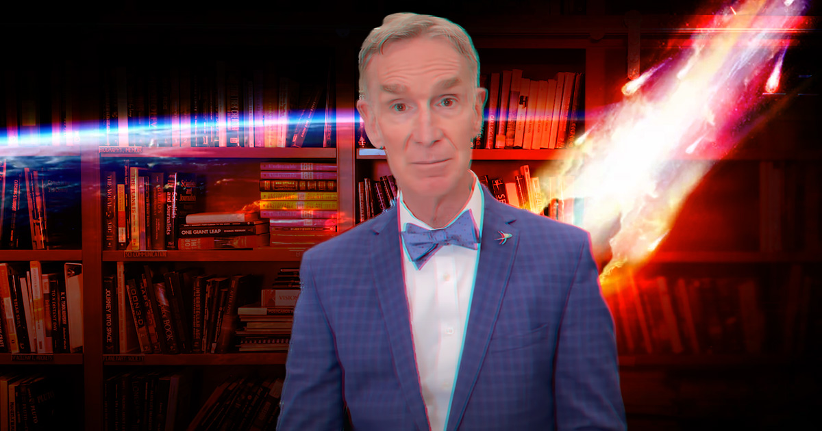 Bill Nye begs president Biden to protect the Earth from dangerous asteroids
