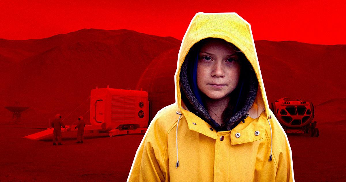 Greta Thunberg Slams Mars Exploration, Says Earth Needs Help Instead