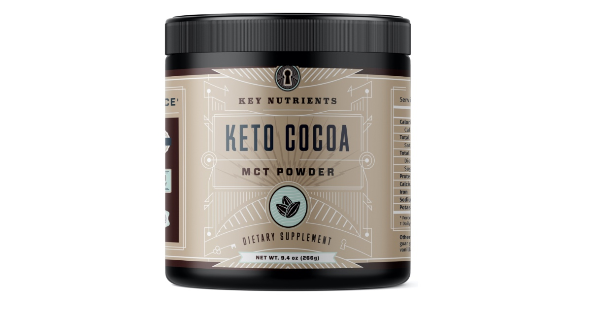 This Cocoa Mct Oil Powder Lets Keto Dieters Satisfy Their Chocolate Cravings