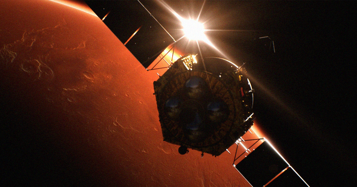 China Shared Information With NASA About Its Mars Orbiter