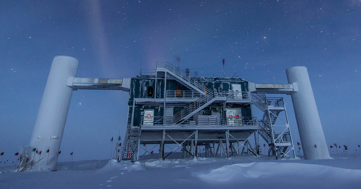 Scientists Confirm an Incredibly Powerful Antimatter Particle Crashed Into  Antarctica