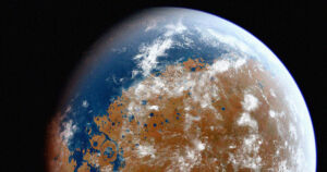 Mars' Oceans May Have Drained Into Its Interior