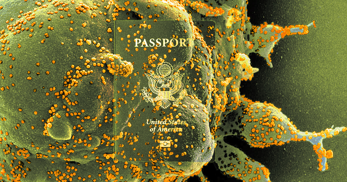 """Expert: Vaccination Passports Could Become a """"Dystopian Nightmare"""""""