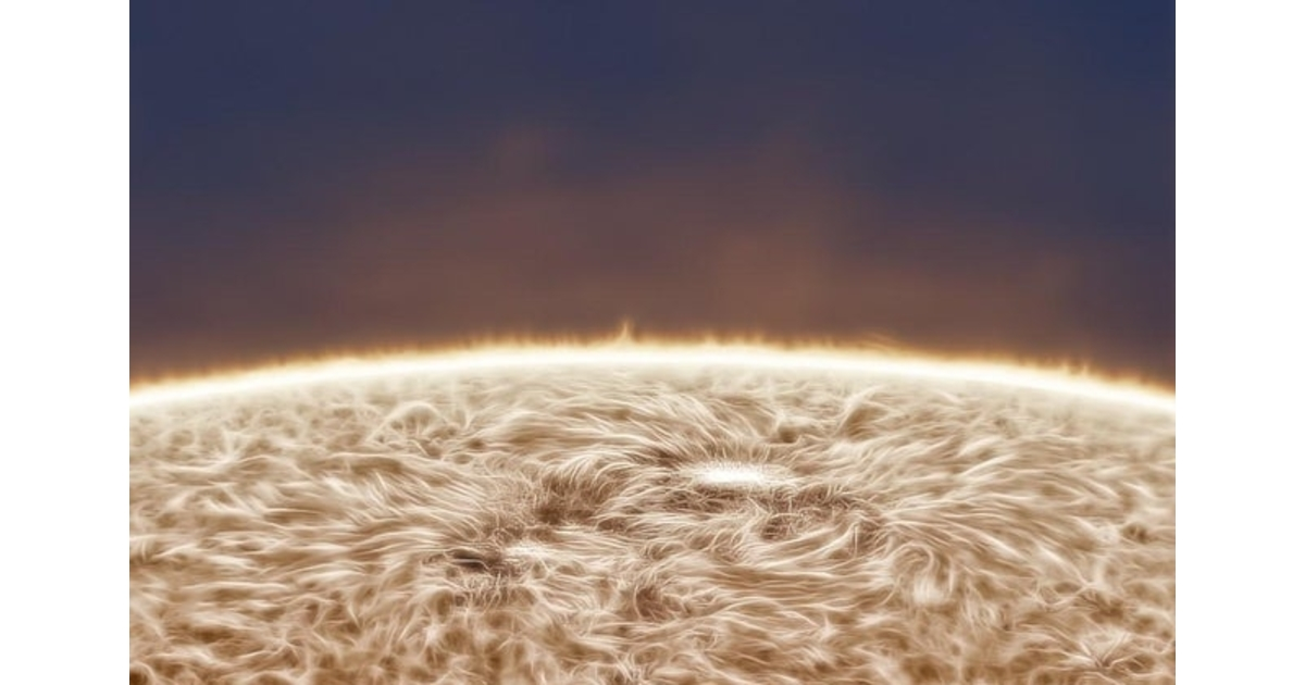 This Photo of the Sun Is Unlike Anything You've Ever Seen