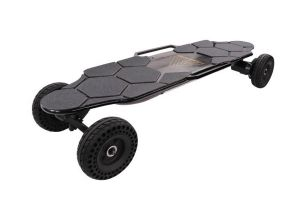 Skate On-Road And Off With The Faboard All-Terrain Electric Skateboard