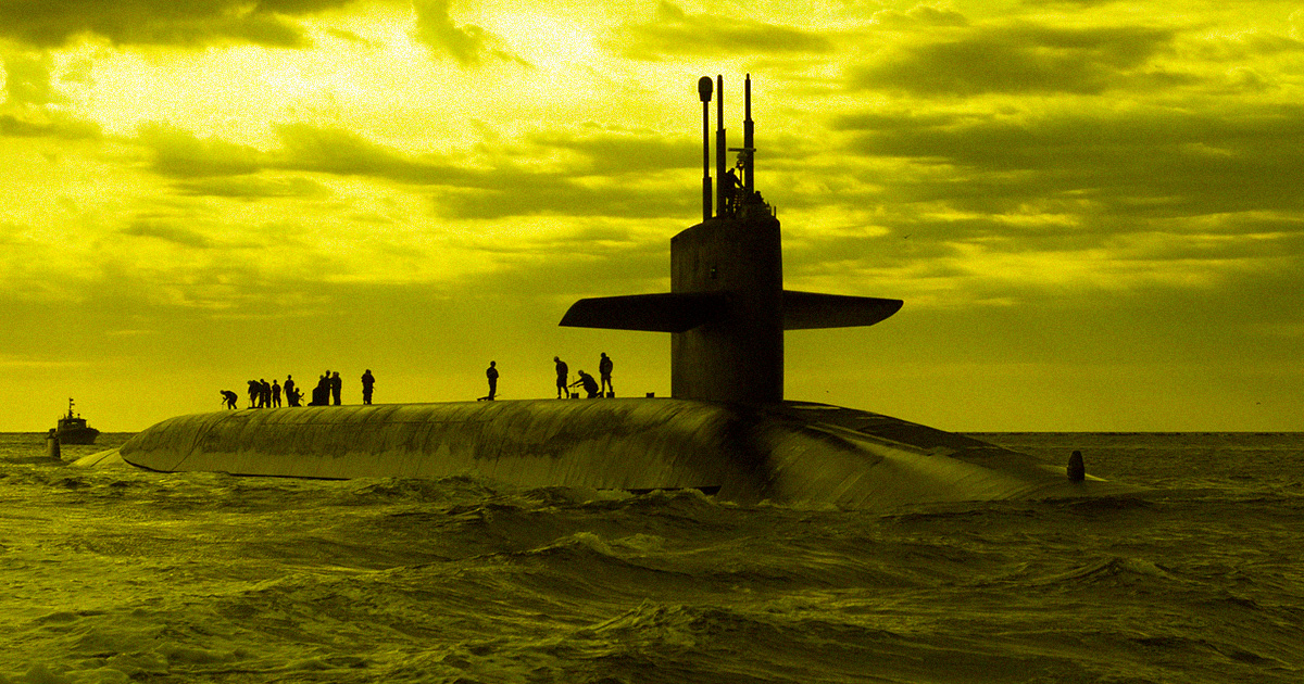 A Submarine Is Missing, With 53 on Board