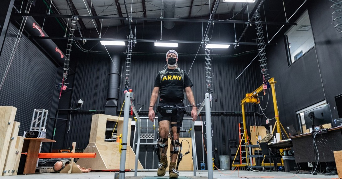 The US Army Is Testing a Powered Exoskeleton