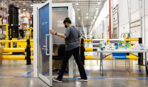 """Amazon is being roasted for sharing a video of its """"AmaZen,"""" essentially a phonebooth-sized box where employees can go to """"focus on their mental wellbeing."""""""