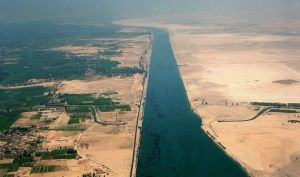 Another Ship Just Got Stuck in the Suez Canal