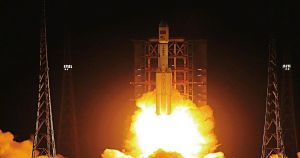 China has launched the Tianzhou-2 spacecraft from the Wenchang Space Launch Center. Its goal is to resupply their new space station for future astronauts.