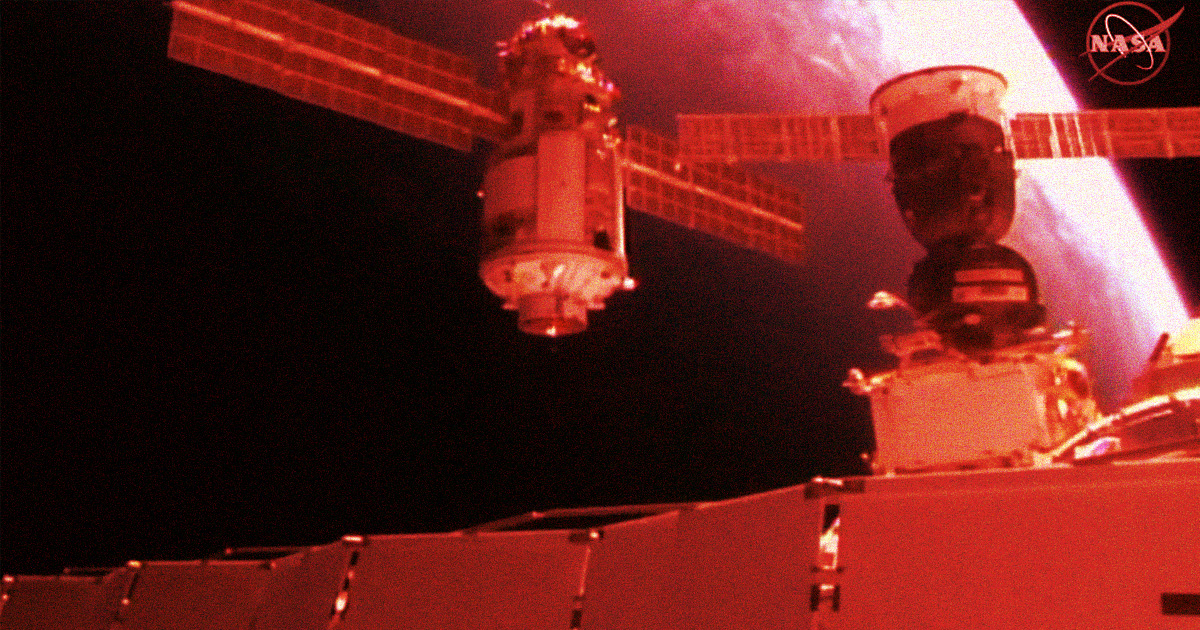 Crisis Briefly Spins International Space Station Out of Control