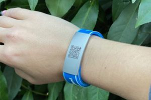Always Have Your Covid Vaccine Records Handy With This Bracelet