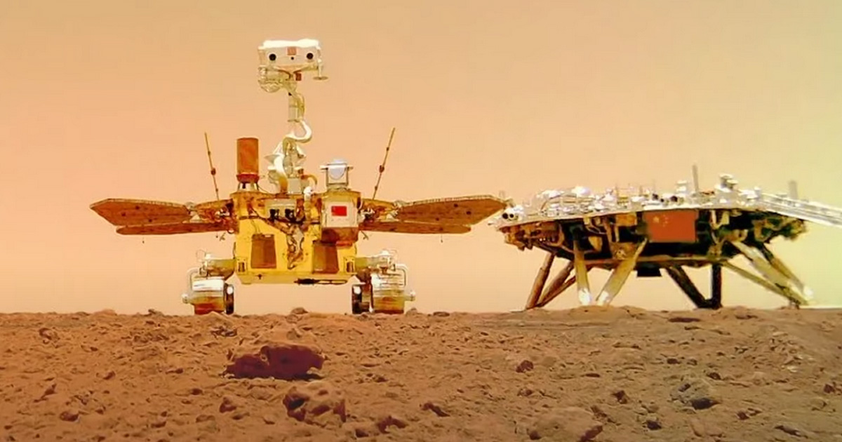 China Releases Beautiful New Photos from the Surface of Mars