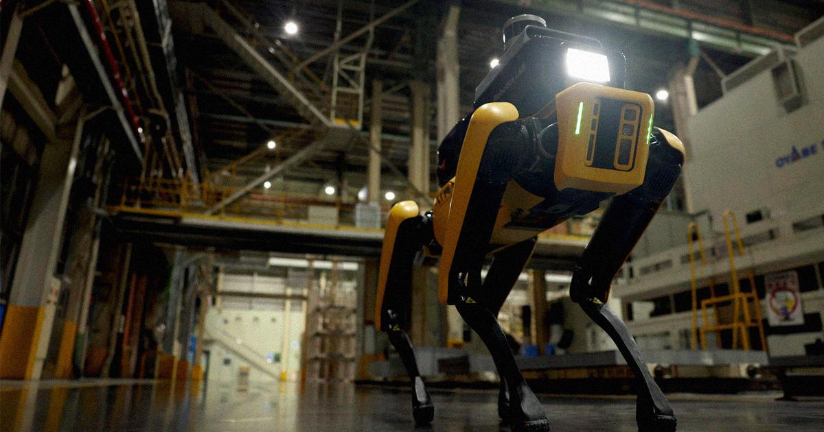 Boston Dynamics Deploys Robot Guard Dog at Factory