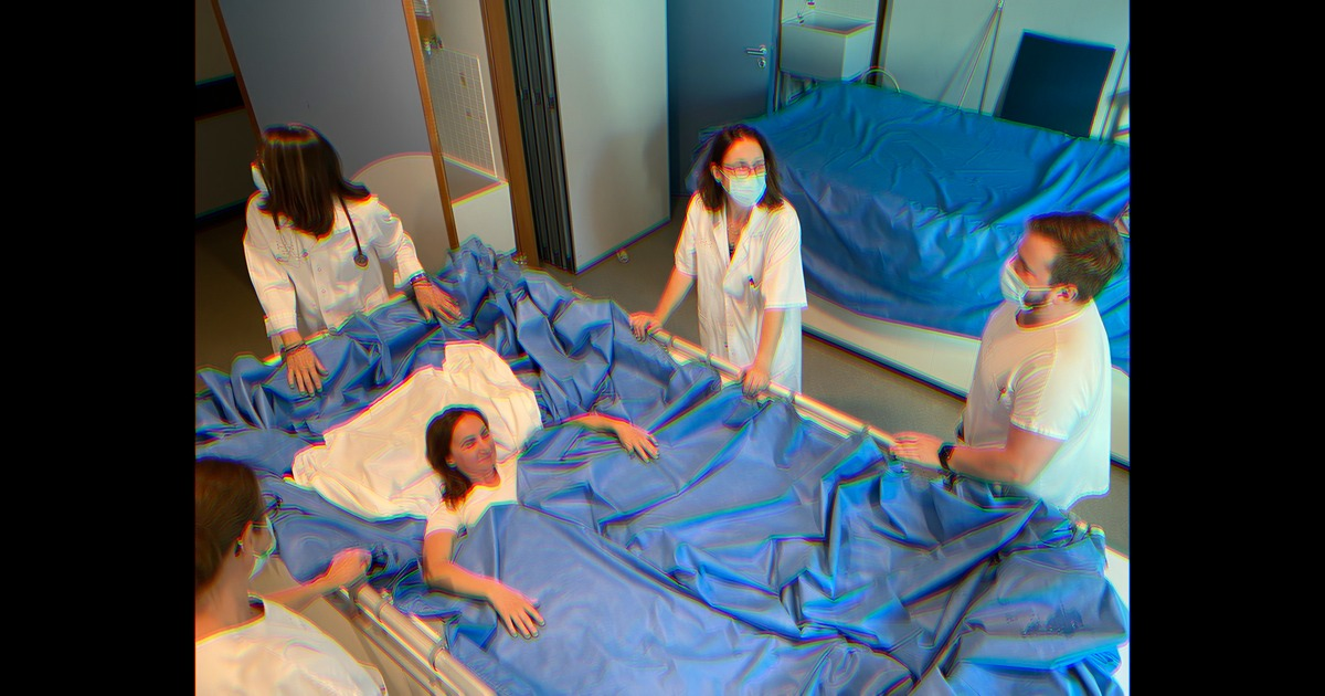Scientists Are Putting Women in Giant Waterbeds to Study Outer Space