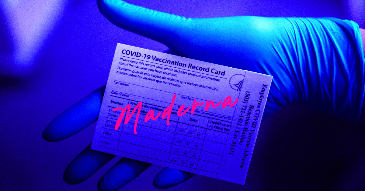 "Idiot Anti-Vaxxer Misspells ""Moderna"" on Falsified Vaccine Card"