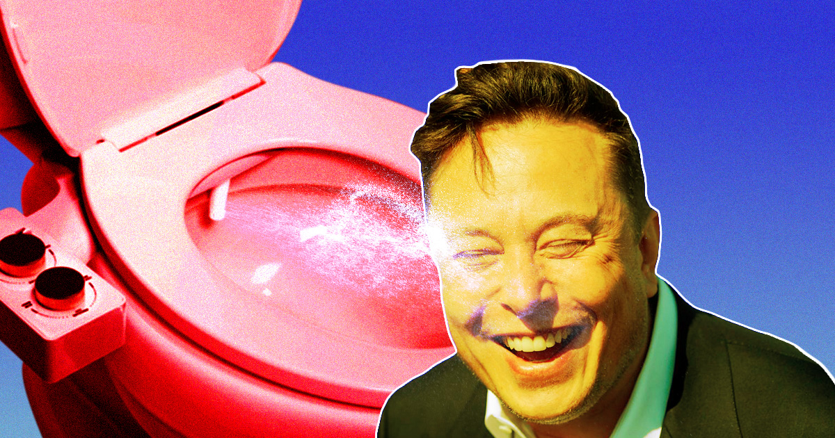 As Spacecraft Toilet Rumors Swirl, Bidet Company Pitches Elon Musk