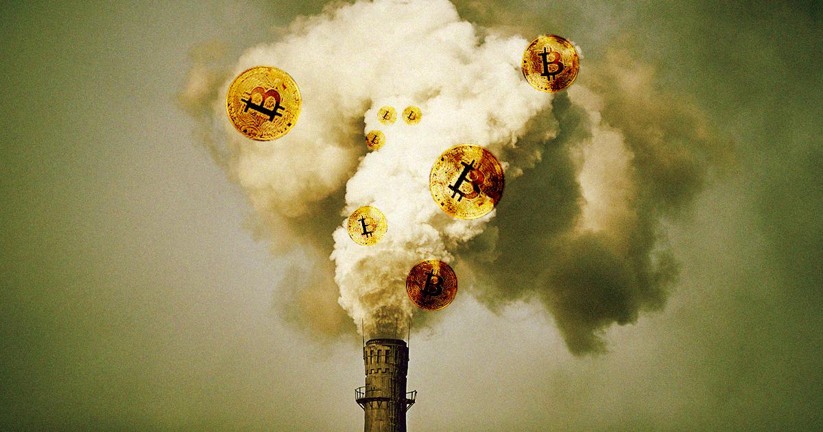 Bitcoin Mining Company Buys Entire Coal Power Plant